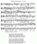 Noten zum Lied