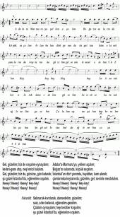 Noten des Liedes